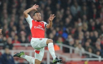 LONDON, ENGLAND - OCTOBER 24:  Francis Coquelin of Arsenal during the Barclays Premier League match between Arsenal and Everton at Emirates Stadium on October 24, 2015 in London, England.  (Photo by David Price/Arsenal FC via Getty Images) *** Local Caption *** Francis Coquelin