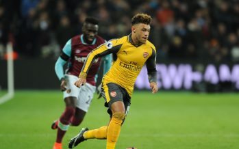 STRATFORD, ENGLAND - DECEMBER 03: Alex Oxlade-Chamberlain of Arsenal during the Premier League match between West Ham United and Arsenal at London Stadium on December 3, 2016 in Stratford, England. (Photo by Stuart MacFarlane/Arsenal FC via Getty Images) *** Local Caption *** Alex Oxlade-Chamberlain