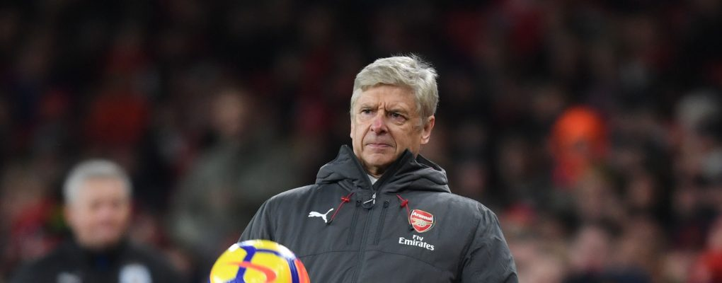 LONDON, ENGLAND - NOVEMBER 29:  Arsenal manager Arsene Wenger during the Premier League match between Arsenal and Huddersfield Town at Emirates Stadium on November 29, 2017 in London, England.  (Photo by Stuart MacFarlane/Arsenal FC via Getty Images) *** Local Caption *** Arsene Wenger