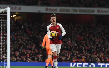 LONDON, ENGLAND - DECEMBER 16:  Mesut Ozil of Arsenal during the Premier League match between Arsenal and Newcastle United at Emirates Stadium on December 16, 2017 in London, England.  (Photo by Stuart MacFarlane/Arsenal FC via Getty Images) *** Local Caption *** Mesut Ozil; Oezil