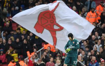 LONDON, ENGLAND - MARCH 11:  Petr Cech of Arsenal after the Premier League match between Arsenal and Watford at Emirates Stadium on March 10, 2018 in London, England.  (Photo by Stuart MacFarlane/Arsenal FC via Getty Images) *** Local Caption *** Petr Cech