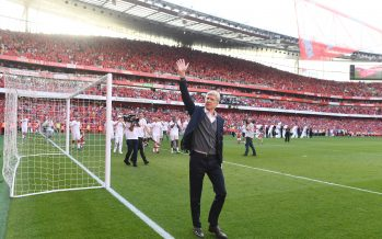 LONDON, ENGLAND - MAY 06:  Arsenal manager Arsene Wenger after the Premier League match between Arsenal and Burnley at Emirates Stadium on May 6, 2018 in London, England.  (Photo by Stuart MacFarlane/Arsenal FC via Getty Images) *** Local Caption *** Arsene Wenger