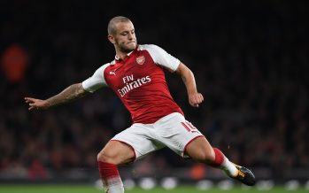 LONDON, ENGLAND - SEPTEMBER 20:  Jack Wilshere of Arsenal during the Carabao Cup Third Round match between Arsenal and Doncaster Rovers at Emirates Stadium on September 19, 2017 in London, England.  (Photo by Stuart MacFarlane/Arsenal FC via Getty Images) *** Local Caption *** Jack Wilshere
