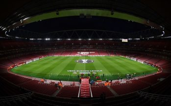 LONDON, ENGLAND - SEPTEMBER 14:  A general view of Emirates Stadium before the UEFA Europa League group H match between Arsenal FC and 1. FC Koeln on September 14, 2017 in London, United Kingdom.  (Photo by Stuart MacFarlane/Arsenal FC via Getty Images) *** Local Caption *** Emirates Stadium