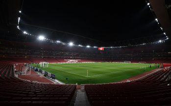 LONDON, ENGLAND - NOVEMBER 02:  A general view of Emirates Stadium before the UEFA Europa League group H match between Arsenal FC and Crvena Zvezda at Emirates Stadium on November 2, 2017 in London, United Kingdom.  (Photo by Stuart MacFarlane/Arsenal FC via Getty Images) *** Local Caption *** Emirates Stadium