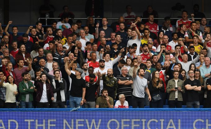 LONDON, ENGLAND - AUGUST 18: of Arsenal during the Premier League match between Chelsea FC and Arsenal FC at Stamford Bridge on August 18, 2018 in London, United Kingdom. (Photo by Stuart MacFarlane/Arsenal FC via Getty Images)