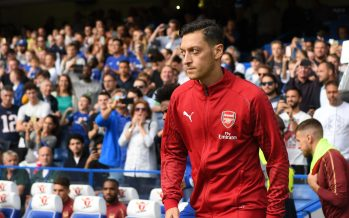 LONDON, ENGLAND - AUGUST 18: Mesut Ozil of Arsenal before the Premier League match between Chelsea FC and Arsenal FC at Stamford Bridge on August 18, 2018 in London, United Kingdom. (Photo by Stuart MacFarlane/Arsenal FC via Getty Images) *** Local Caption *** Mesut Ozil;Oezil