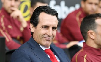 LONDON, ENGLAND - OCTOBER 07: Arsenal Head Coach Unai Emery before the Premier League match between Fulham FC and Arsenal FC at Craven Cottage on October 6, 2018 in London, United Kingdom. (Photo by Stuart MacFarlane/Arsenal FC via Getty Images) *** Local Caption *** Unai Emery
