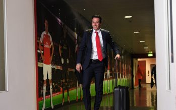 LONDON, ENGLAND - OCTOBER 22:  Unai Emery the Head Coach of Arsenal before the Premier League match between Arsenal FC and Leicester City at Emirates Stadium on October 22, 2018 in London, United Kingdom.  (Photo by David Price/Arsenal FC via Getty Images) *** Local Caption *** Unai Emery