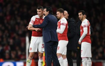 LONDON, ENGLAND - NOVEMBER 11: of Arsenal during the Premier League match between Arsenal FC and Wolverhampton Wanderers at Emirates Stadium on November 10, 2018 in London, United Kingdom. (Photo by Stuart MacFarlane/Arsenal FC via Getty Images)