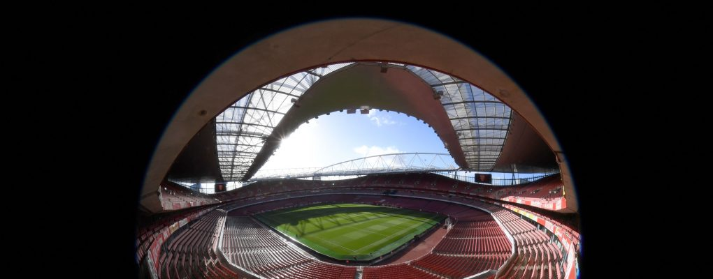 LONDON, ENGLAND - NOVEMBER 11:  A general view of Emirates Stadium the Premier League match between Arsenal FC and Wolverhampton Wanderers on November 10, 2018 in London, United Kingdom.  (Photo by Stuart MacFarlane/Arsenal FC via Getty Images) *** Local Caption *** Emirates Stadium
