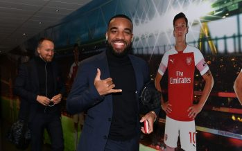 LONDON, ENGLAND - FEBRUARY 24:  Alexandre Lacazette of Arsenal arrives at the stadium before the Premier League match between Arsenal FC and Southampton FC at Emirates Stadium on February 24, 2019 in London, United Kingdom.  (Photo by David Price/Arsenal FC via Getty Images) *** Local Caption *** Alexandre Lacazette