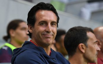 STOCKHOLM, SWEDEN - AUGUST 04:  Unai Emery the Arsenal Head Coach before the Pre-season friendly between Arsenal and SS Lazzio on August 4, 2018 in Stockholm, Sweden.  (Photo by David Price/Arsenal FC via Getty Images) *** Local Caption *** Unai Emery