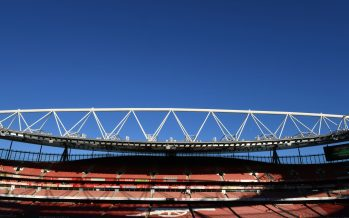 LONDON, ENGLAND - SEPTEMBER 26:  A general view of Emirates stadium before the Carabao Cup Third Round match between Arsenal and Brentford  on September 26, 2018 in London, England.  (Photo by Stuart MacFarlane/Arsenal FC via Getty Images) *** Local Caption *** Emirates stadium