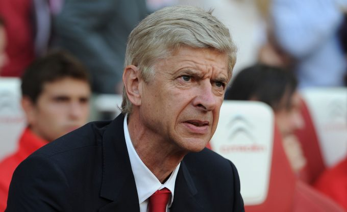 LONDON, ENGLAND - AUGUST 16:  Arsene Wenger the Arsenal manager before the Barclays Premier League match between Arsenal and Crystal Palace at Emirates Stadium on August 16, 2014 in London, England.  (Photo by David Price/Arsenal FC via Getty Images) *** Local Caption *** Arsene Wenger
