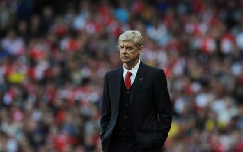 ST ALBANS, ENGLAND - AUGUST 16: Arsenal manager Arsene Wenger during the Barclays Premier League match between Arsenal and Crystal Palace at Emirates Stadium on August 16, 2014 in London, England. (Photo by Stuart MacFarlane/Arsenal FC via Getty Images) *** Local Caption *** Arsene Wenger
