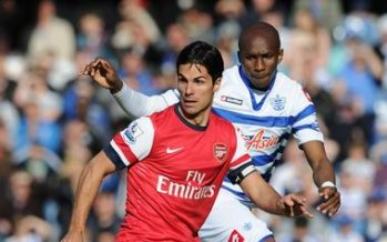 LONDON, ENGLAND - MAY 05: of Arsenal during the Barclays Premier League match between Queens Park Rangers and Arsenal at Loftus Road on May 05, 2013 in London, England. (Photo by Stuart MacFarlane/Arsenal FC via Getty Images)