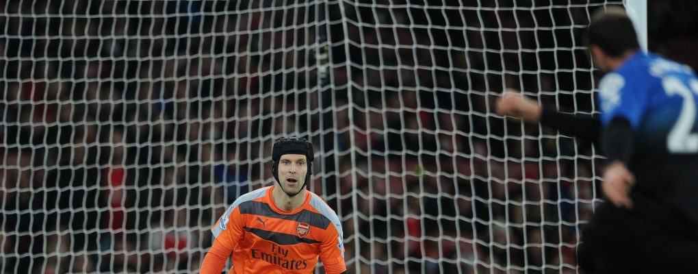 LONDON, ENGLAND - DECEMBER 28:  Petr Cech of Arsenal during the Barclays Premier League match between Arsenal and Bournemouth at Emirates Stadium on December 28, 2015 in London, England.  (Photo by David Price/Arsenal FC via Getty Images) *** Local Caption *** Petr Cech
