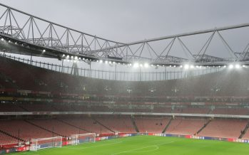 LONDON, ENGLAND - JANUARY 01:  A general view of Emirates Stadium before the Premier League match between Arsenal and Crystal Palace on January 1, 2017 in London, England.  (Photo by Stuart MacFarlane/Arsenal FC via Getty Images) *** Local Caption *** Emirates Stadium