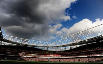 LONDON, ENGLAND - OCTOBER 15: A general view of Emirates stadium during the Premier League match between Arsenal and Swansea City on October 15, 2016 in London, England. (Photo by Stuart MacFarlane/Arsenal FC via Getty Images) *** Local Caption *** Emirates stadium