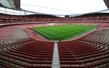 LONDON, ENGLAND - NOVEMBER 27:  A general view of Emirates stadium before the Premier League match between Arsenal and AFC Bournemouth on November 27, 2016 in London, England.  (Photo by Stuart MacFarlane/Arsenal FC via Getty Images) *** Local Caption *** Premier League;Emirates Stadium