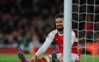LONDON, ENGLAND - DECEMBER 26:  Olivier Giroud of Arsenal during the Premier League match between Arsenal and West Bromwich Albion at Emirates Stadium on December 26, 2016 in London, England.  (Photo by David Price/Arsenal FC via Getty Images) *** Local Caption *** Olivier Giroud