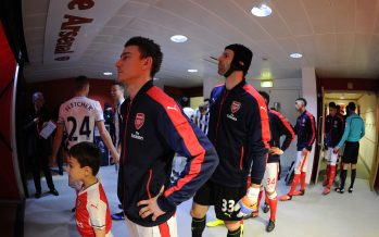 LONDON, ENGLAND - DECEMBER 26:  Laurent Koscielny and Petr Cech of Arsenal before the Premier League match between Arsenal and West Bromwich Albion at Emirates Stadium on December 26, 2016 in London, England.  (Photo by David Price/Arsenal FC via Getty Images) *** Local Caption *** Laurent Koscielny; Petr Cech
