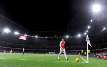 LONDON, ENGLAND - DECEMBER 21: Mesut Ozil of Arsenal during the Barclays Premier League match between Arsenal and Manchester City at Emirates Stadium on December 21, 2015 in London. (Photo by Stuart MacFarlane/Arsenal FC via Getty Images)  *** Local Caption *** Mesut Ozil;Oezil