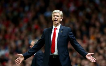 LONDON, ENGLAND - OCTOBER 01:  Arsene Wenger, manager of Arsenal reacts during the UEFA Champions League group D match between Arsenal FC and Galatasaray AS at Emirates Stadium on October 1, 2014 in London, United Kingdom.  (Photo by Paul Gilham/Getty Images)