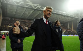 PRESTON, ENGLAND - JANUARY 07:  Arsene Wenger the Arsenal Manager before the match between Preston North End and Arsenal at Deepdale on January 7, 2017 in Preston, England.  (Photo by David Price/Arsenal FC via Getty Images) *** Local Caption *** Arsene Wenger
