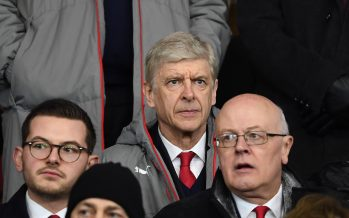 SOUTHAMPTON, ENGLAND - JANUARY 28: Arsenal manager Arsene Wenger in the directors box during the Emirates FA Cup Fourth Round match between Southampton and Arsenal at St Mary's Stadium on January 28, 2017 in Southampton, England. (Photo by Stuart MacFarlane/Arsenal FC via Getty Images) *** Local Caption *** Arsene Wenger